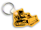 Bulldozer key fob